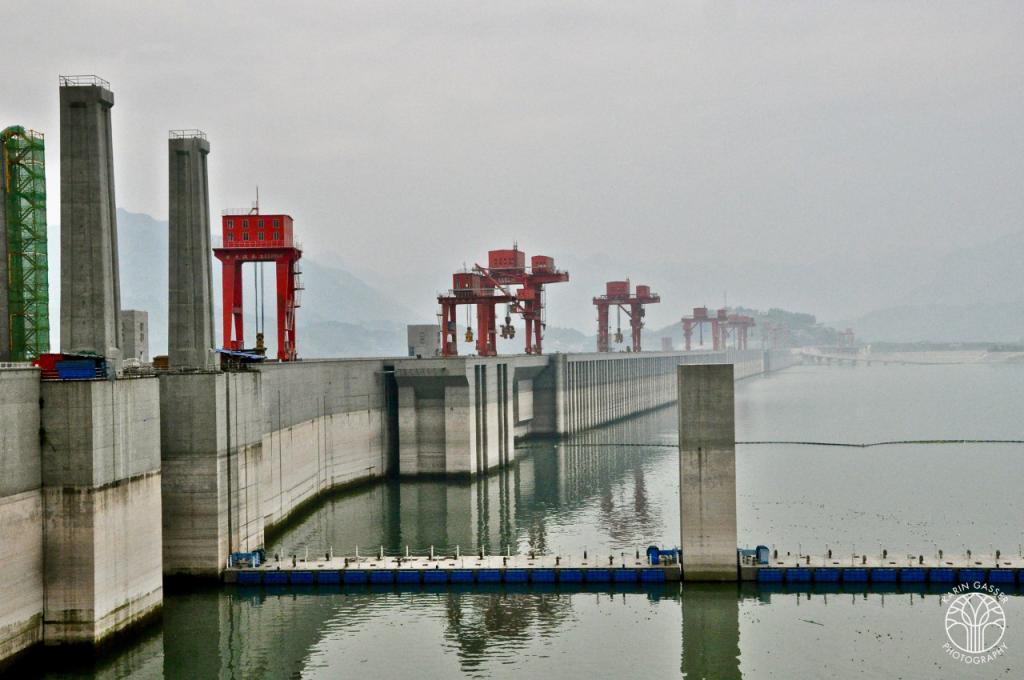 China Jangtsekiang Staudamm (0102)